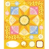 Cardstock Stickers Yellow