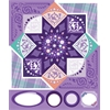 Blue Hills Studio ColorStories Cardstock Stickers Purple