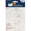 Epoxy Swirl Stickers White