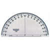 "C-Thru Transparent 6"" Semicircular Protractor"