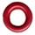 """Round Eyelet 1/8"""" Cranberry"""