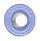 "Round Eyelet 1/8"" Blue"