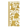 Dazzles Stickers Baby Gold