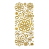 Dazzles Stickers Daisy Gold