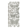Stickers Butterflies & Dragonflies Silver