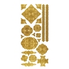 Dazzles Stickers Celtic Gold