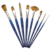 Winsor & Newton Cotman Series 667 Angle Short Handle Brush 1/4""