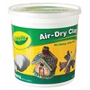 BINNEY & SMITH / CRAYOLA Air-Dry Clay, White, 5 lbs