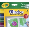 Washable Window Mega Marker 4-Color Set