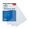 "Isometric Grid Pad 8.5"" x 11"""