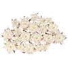 Dimensional Paper Flowers White
