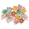 Blue Hills Studio Irene's Garden Box O'Gardenias Dimensional Paper Flowers Fruit Punch