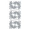 Blue Hills Studio DesignLines Outline Stickers Silver #6
