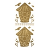 Blue Hills Studio DesignLines Outline Stickers Gold #13