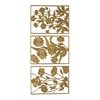 Outline Stickers Gold #17