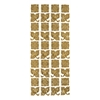 Outline Stickers Gold #21