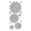 Blue Hills Studio DesignLines Outline Stickers Silver #26