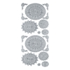 Blue Hills Studio DesignLines Outline Stickers Silver #30