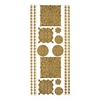 Blue Hills Studio DesignLines Outline Stickers Gold #33