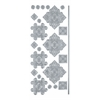 Blue Hills Studio DesignLines Outline Stickers Silver #36