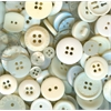 Buttons Galore & More Button Bonanza Grab Bag Ivory