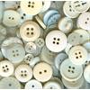 Buttons Galore & More Button Bonanza Grab Bag Ivory