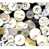 Buttons Galore & More Button Bonanza Grab Bag White