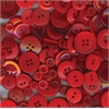Buttons Galore & More Button Bonanza Grab Bag Fire Engine Red