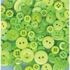 Buttons Galore & More Button Bonanza Grab Bag Spring Green