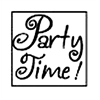 Manuscript Decorative Resin Wax Seal Party Time