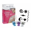Jacquard Glitter Body Art Kit