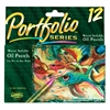 Water-Soluble Oil Pastels 12-Color Set