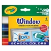 Washable Window Mega Marker School 4-Color Set