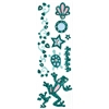 Glitter Bling Stickers Green