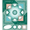 Blue Hills Studio ColorStories Cardstock Stickers Green