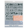 Blue Hills Studio Lettering Stencil Set Back to School