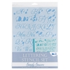 Blue Hills Studio Lettering Stencil Set Simply Sincere