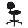 Black Comfort Economy Office Height Task Chair