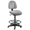 Medium Gray Premo Drafting Height Ergonomic Chair