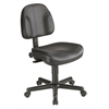 Alvin Black Leather Premo Office Height Ergonomic Chair