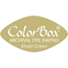 ColorBox Cat's Eye Ink Pad Khaki Green