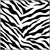 "The Crafter's Workshop 12"" x 12"" Design Template Zebra Print"