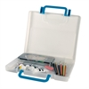 Portable Storage Case Medium Clear