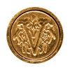 Manuscript Initial Ceramic Mini Seal V