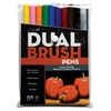 Tombow Dual Brush 10-Color Primary Pen Set