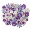 Blue Hills Studio Irene's Garden Jar O'Blooms Purples