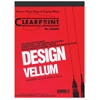 Clearprint 1000H Series 8.5 x 11 Unprinted Vellum 100-Sheet Pack