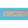 Aluminum English/Metric Ruler