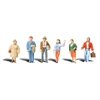 "Standing People – 1/4"" Scale"