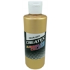 Createx Airbrush Paint 2oz Pearlescent Satin Gold